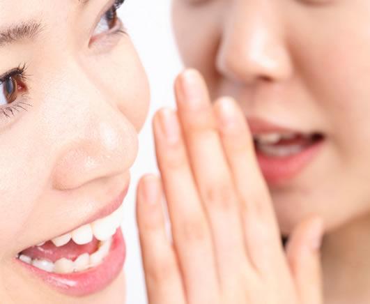 女性同士の会話イメージ
