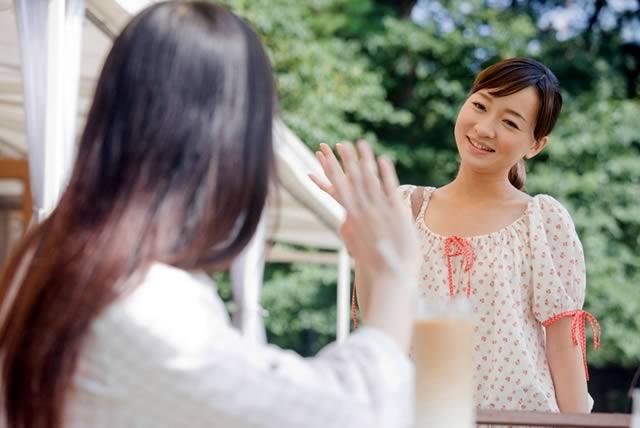 女友達・イメージ