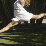 しなやかな筋肉・バレエ・イメージ